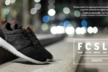 FreshCotton Sneaker Lookbook Nike Roshe Run Black
