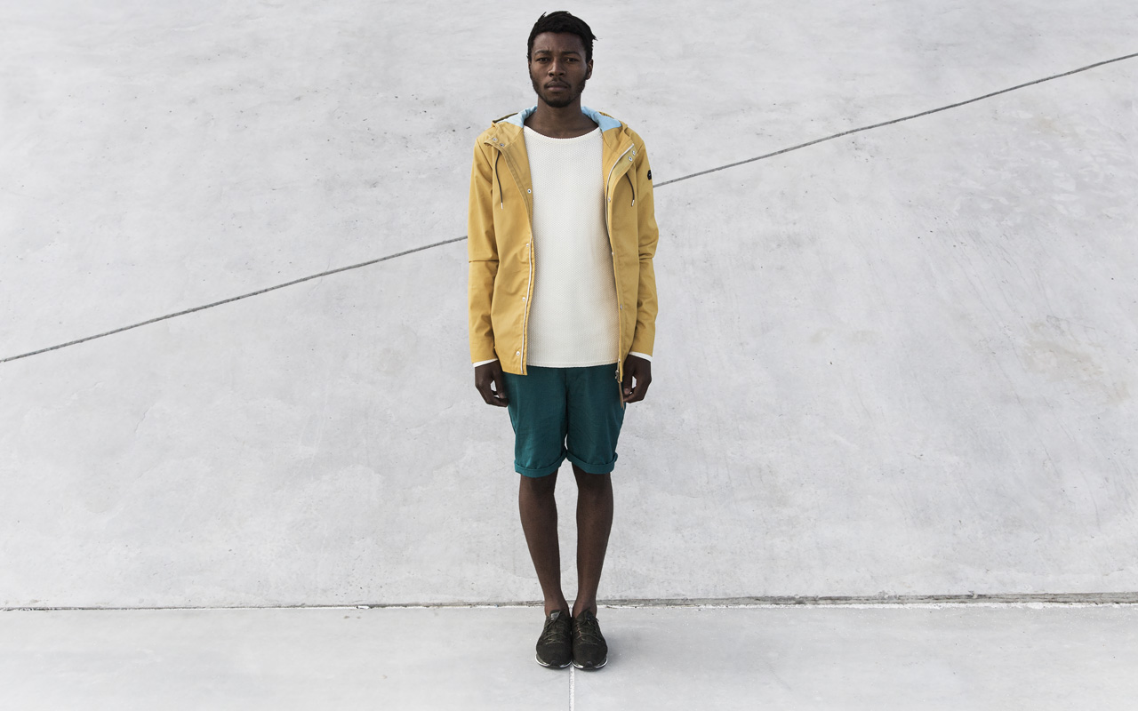 Revolution RVLT SS14 Parka Short Yellow