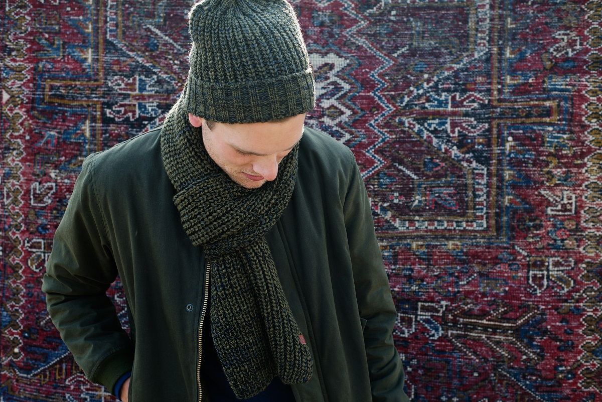 BICKLEY + MITCHELL Winter 14-15 Lookbook Beanie Scarf