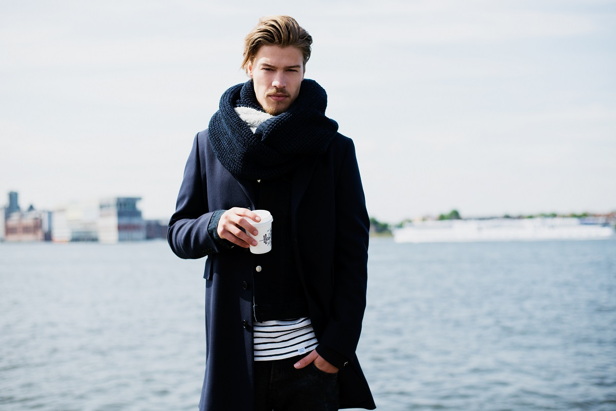 BICKLEY + MITCHELL Winter 14-15 Lookbook Big Scarf