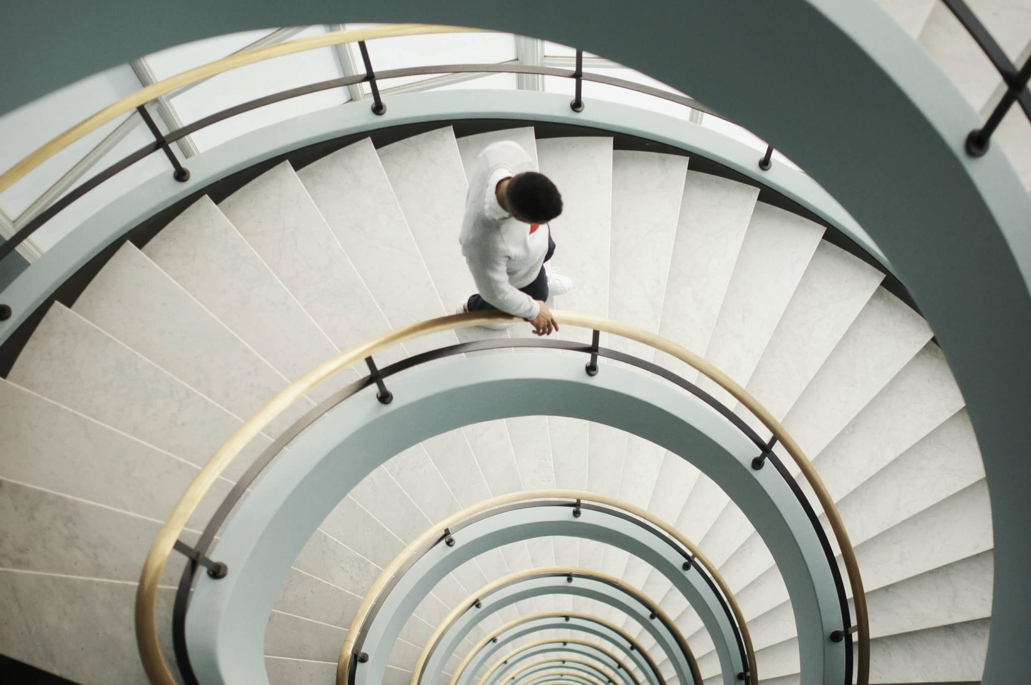 EverydayFresh Arternative FW14 Lookbook Round Stairs