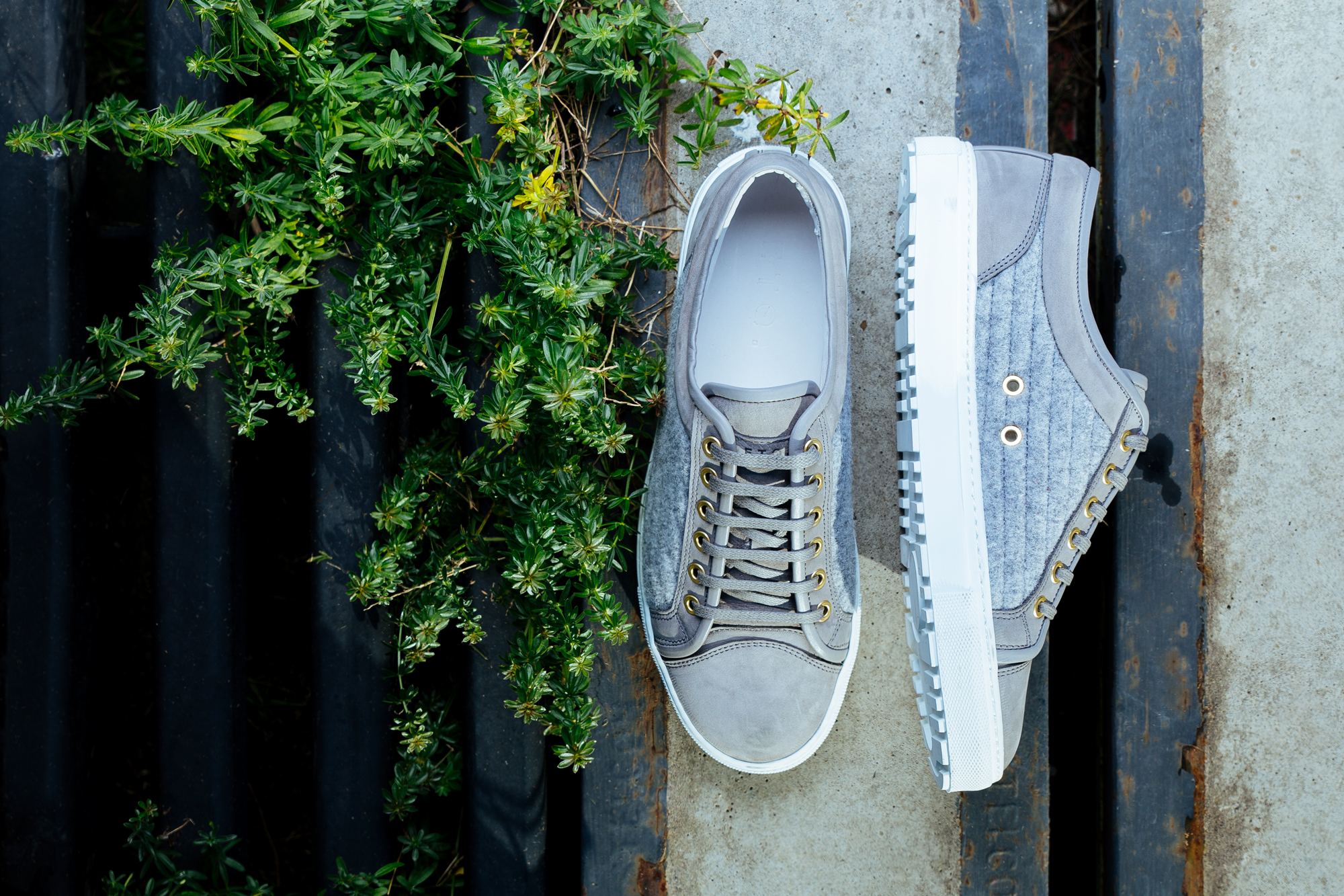 FreshCotton Sneaker Lookbook FW14 ETQ Grey Wool