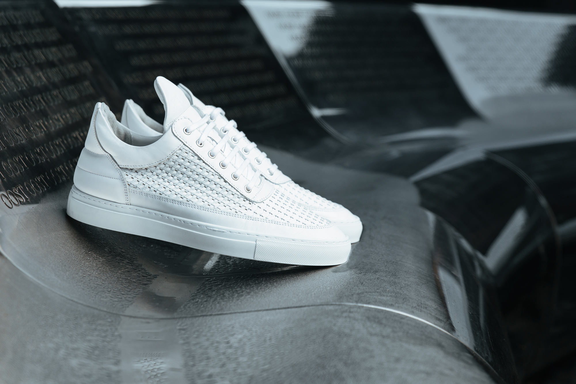FreshCotton Sneaker Lookbook FW14 Filling Pieces White