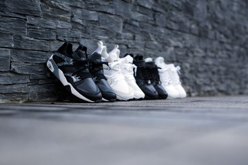 PUMA Trinomic Marble Pack Black Grey White