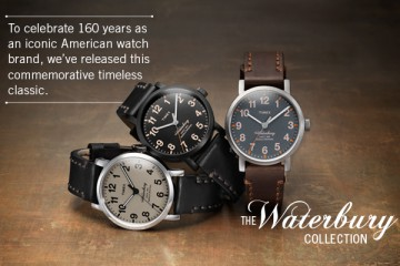 Timex Waterbury Collection 640x400
