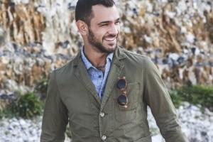 Dstrezzed Summer 15 lookbook Green Blazer