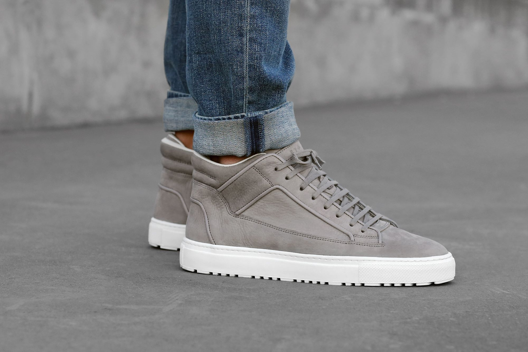 ETQ Amsterdam SS15 Collection Lookbook Grey Mid Top