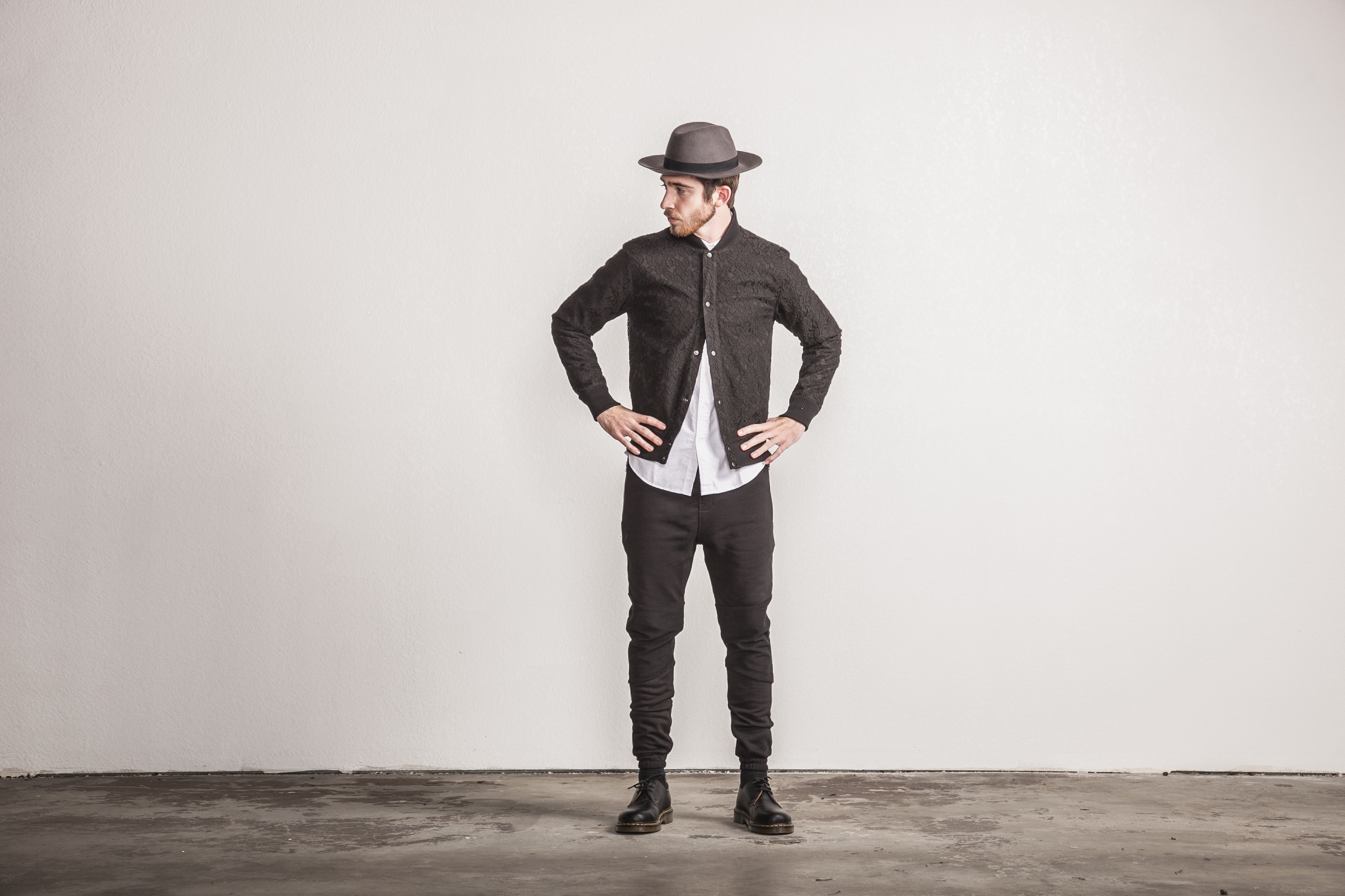 Publish Brand Spring 15 Black Jacket and Hat