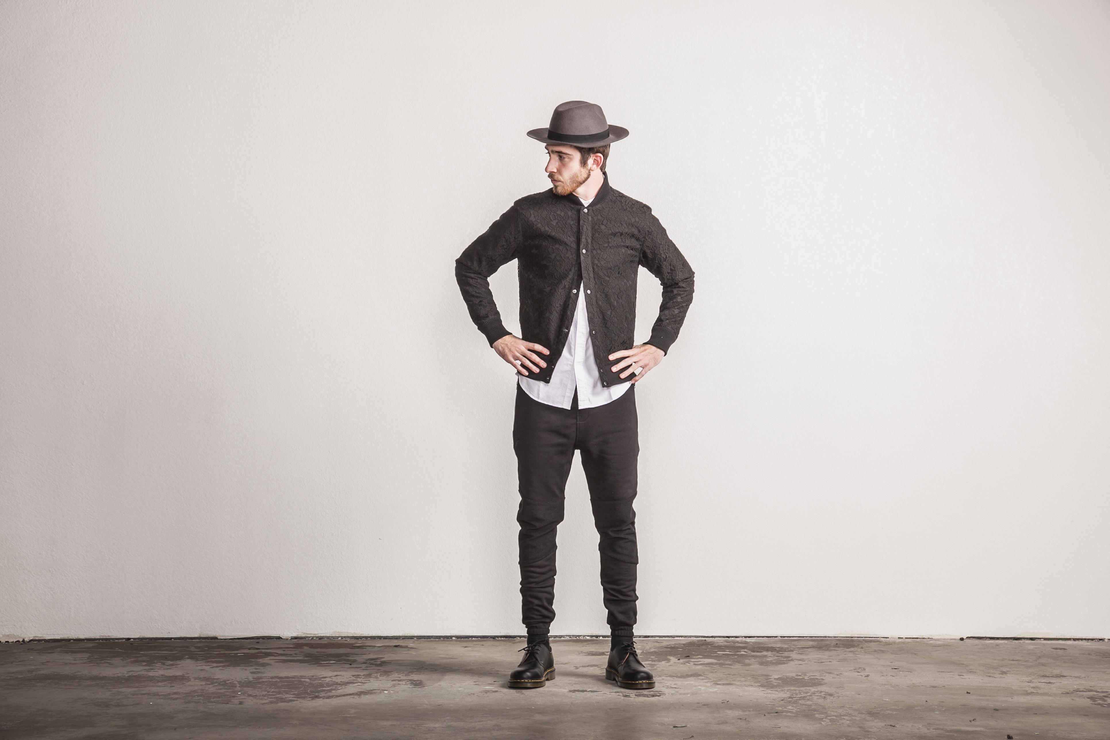 Publish Brand Spring 15 Black Jacket and Hat