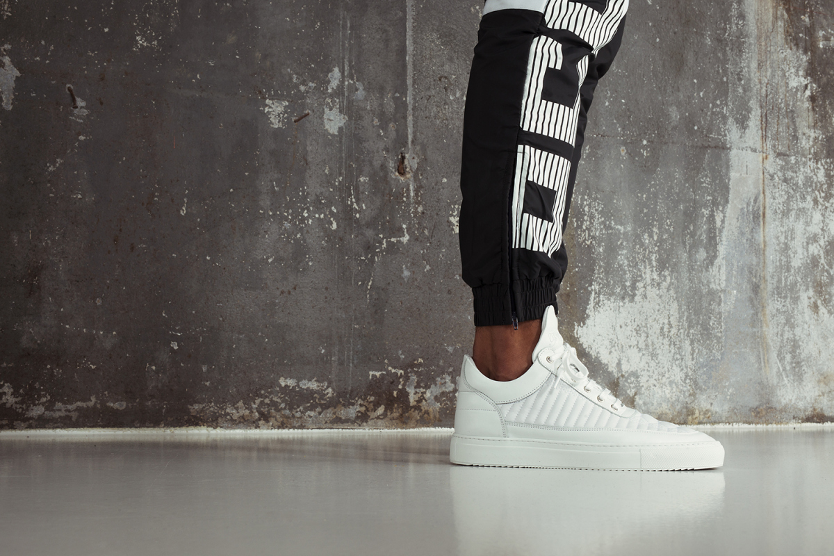 Filling Pieces SS15 Lookbook Drop 3 Low Top All White