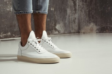 Filling Pieces SS15 Lookbook Drop 3 Low Top Off White