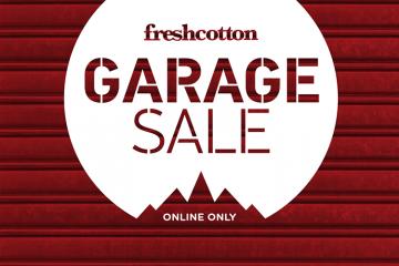 FreshCotton Garage Sale Online Only