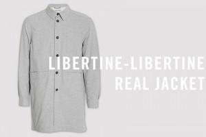 ill jassen Libertine-Libertine-Real-Jacket-Grey-Melange