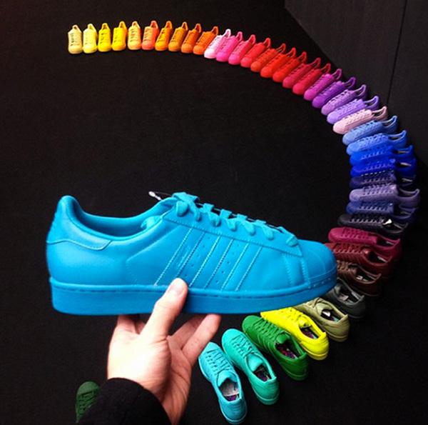 Pharrel Williams x Adidas Originals 'Supercolor' | 50