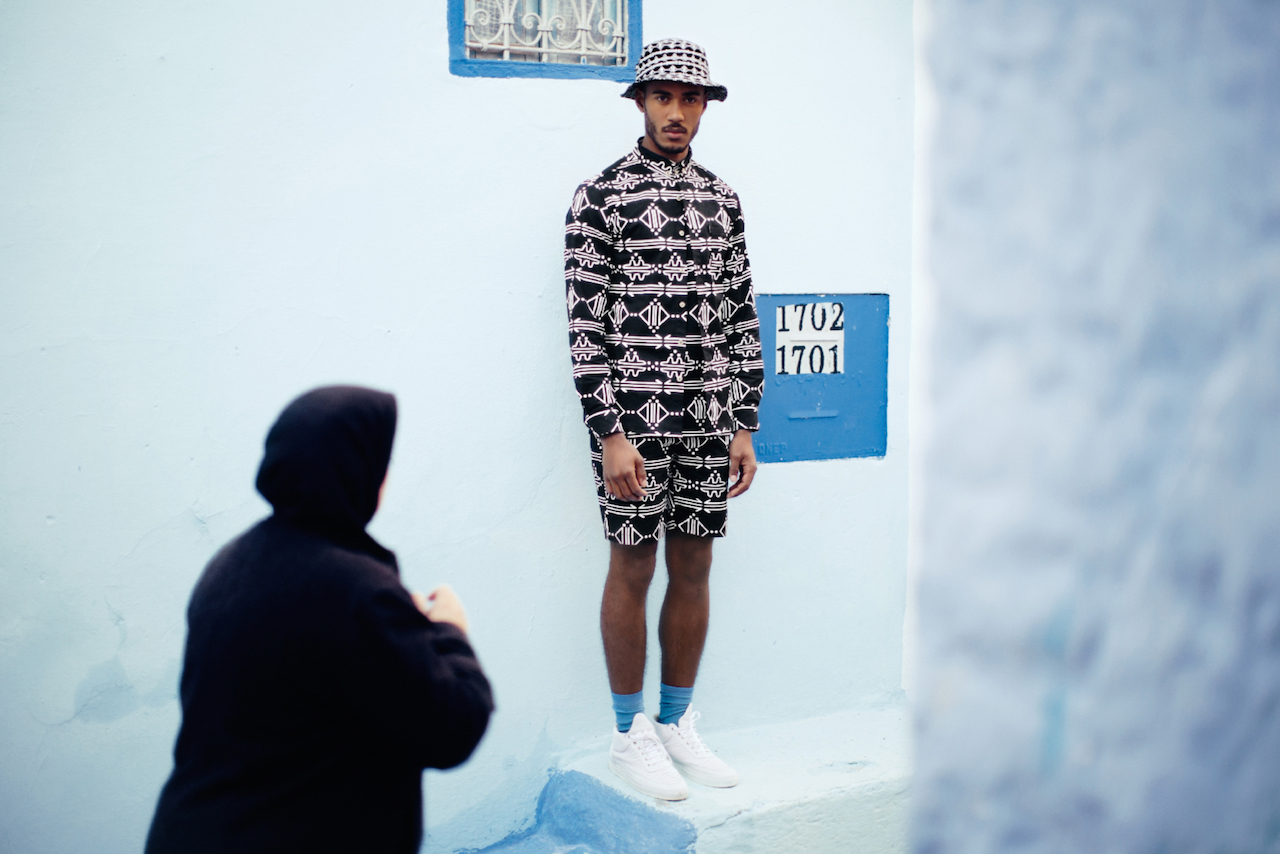 Daily Paper SS15 Chapter 2 All over print outfit buckethat