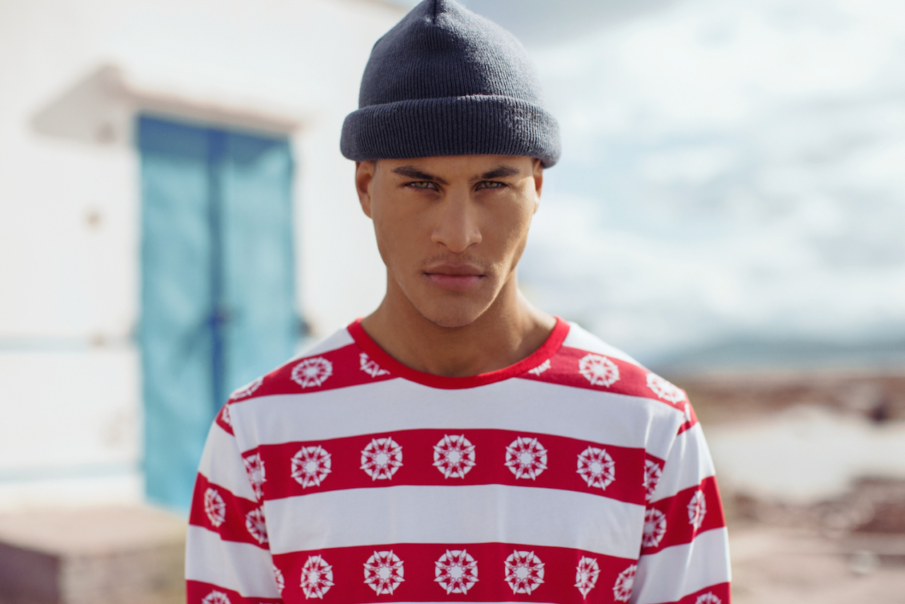 Daily Paper SS15 Chapter 2 Red stripe tshirt