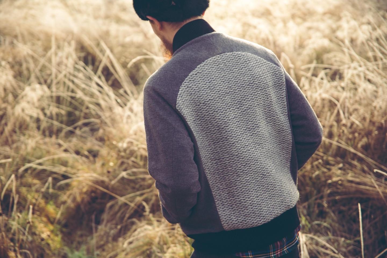 Delikatessen AW15 Lookbook Italian Wool Bomber Jacket