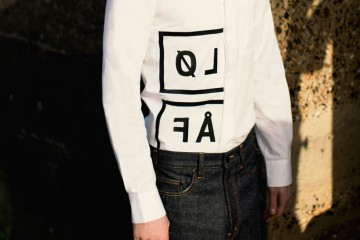 Olaf Hussein FW15 Lookbook White Shirt Cover
