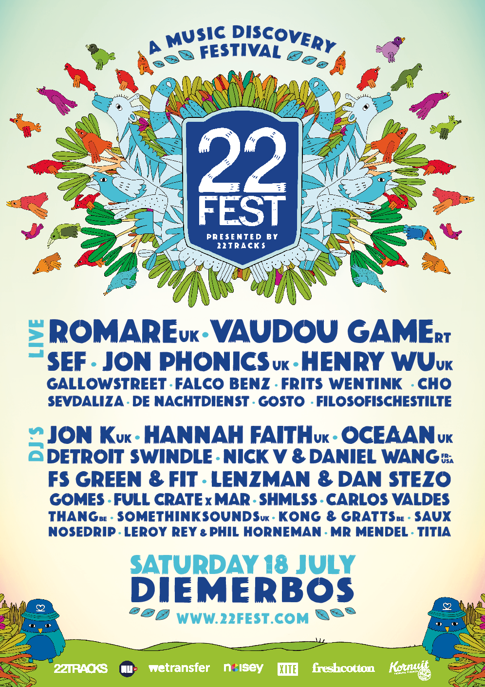 22fest by 22tracks Poster