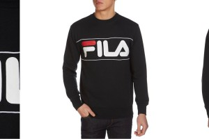 Fila Logo Crewneck by JD Sports