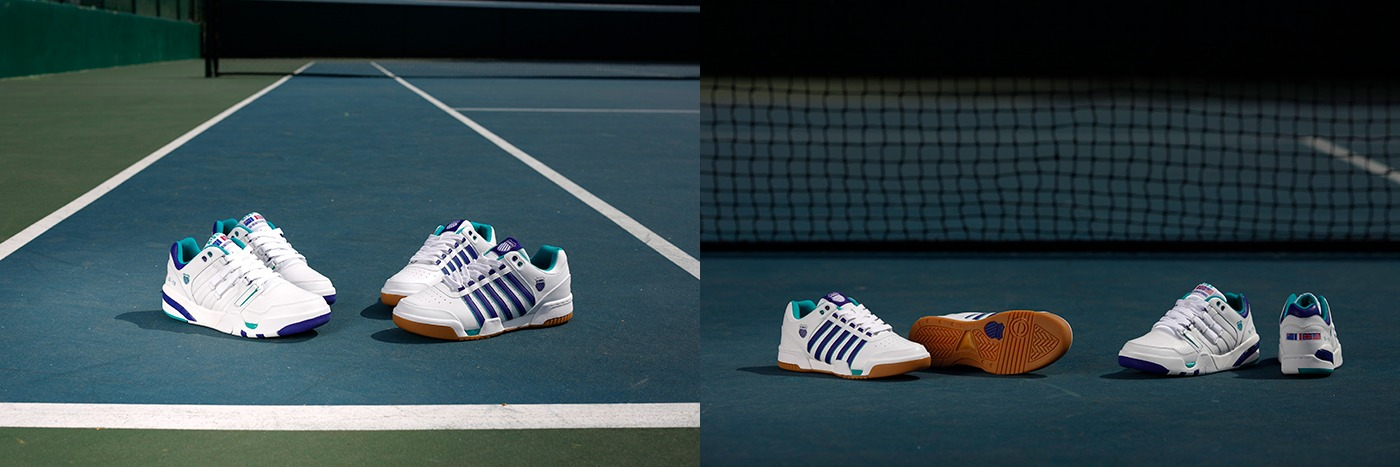 K-Swiss Gstaad and Si-18 International 1