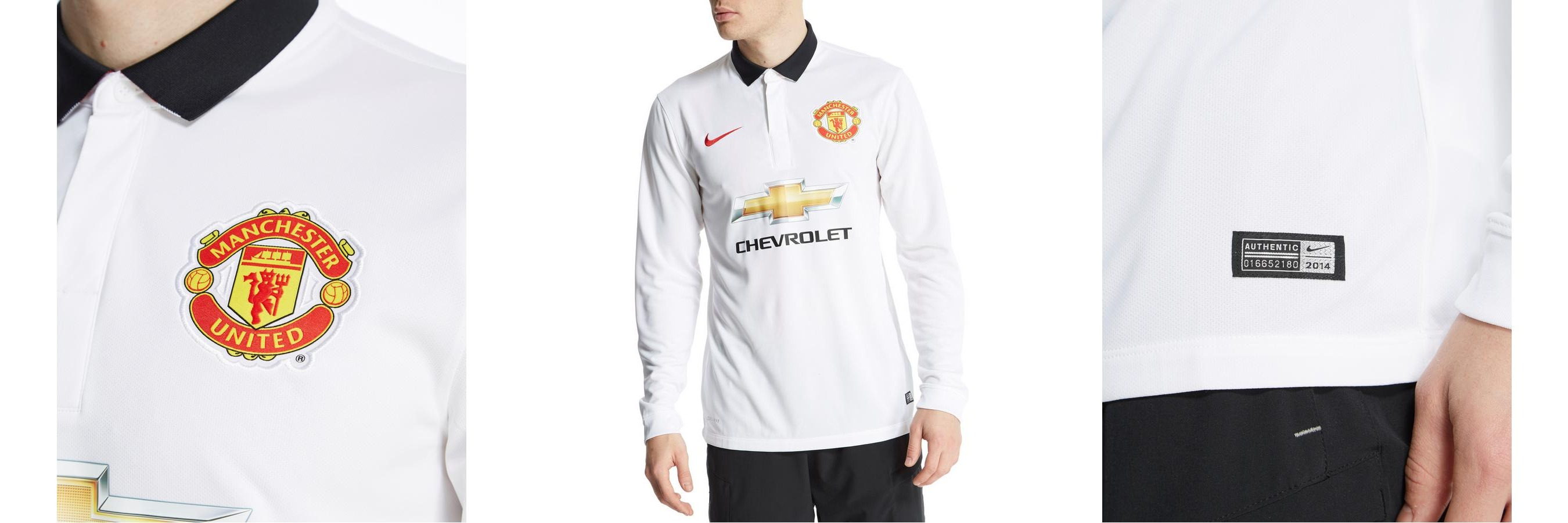 Machester United Longsleeve Away Shirt by JD Sports