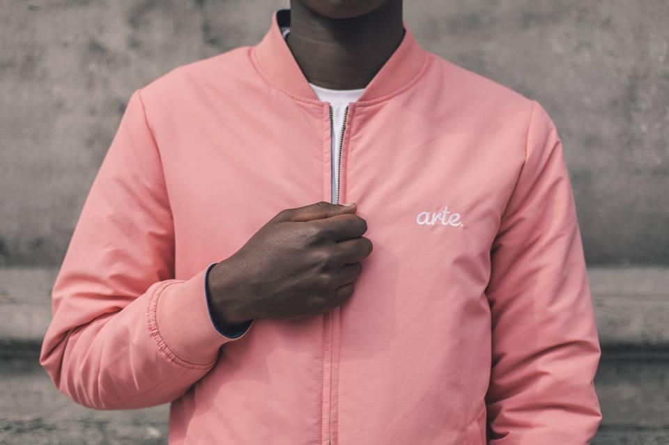 Arternative Pink Bomber Close Up