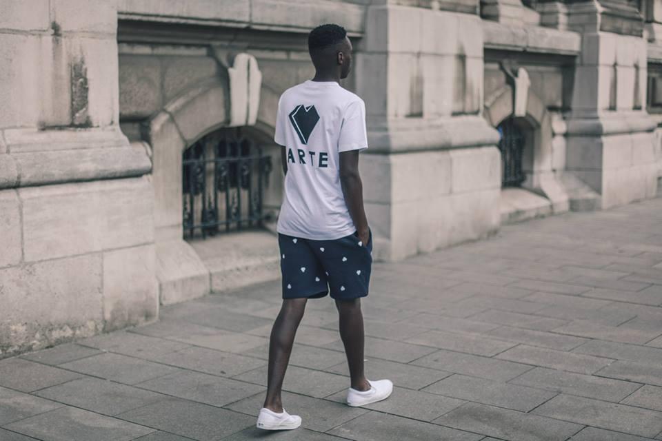 Arternative Tshirt en korte broek