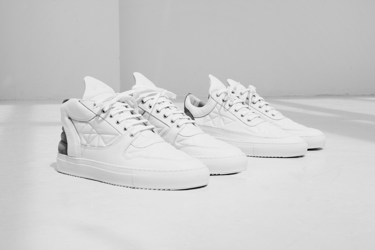Filling Pieces Fall 15 Lookbook Low Top Transformed White