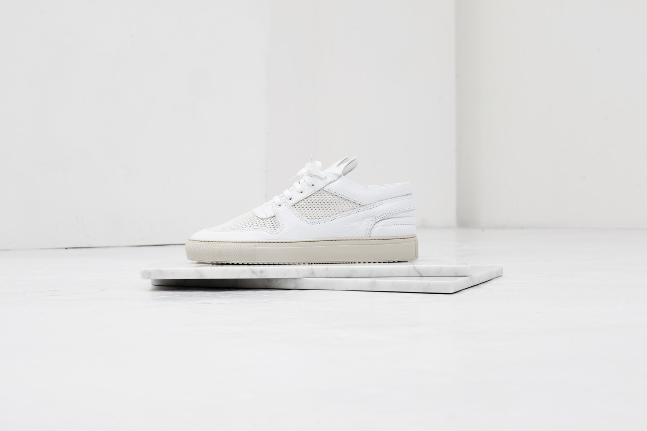 Filling Pieces Fall 15 Lookbook Low Top Ultra 3M Off White 1