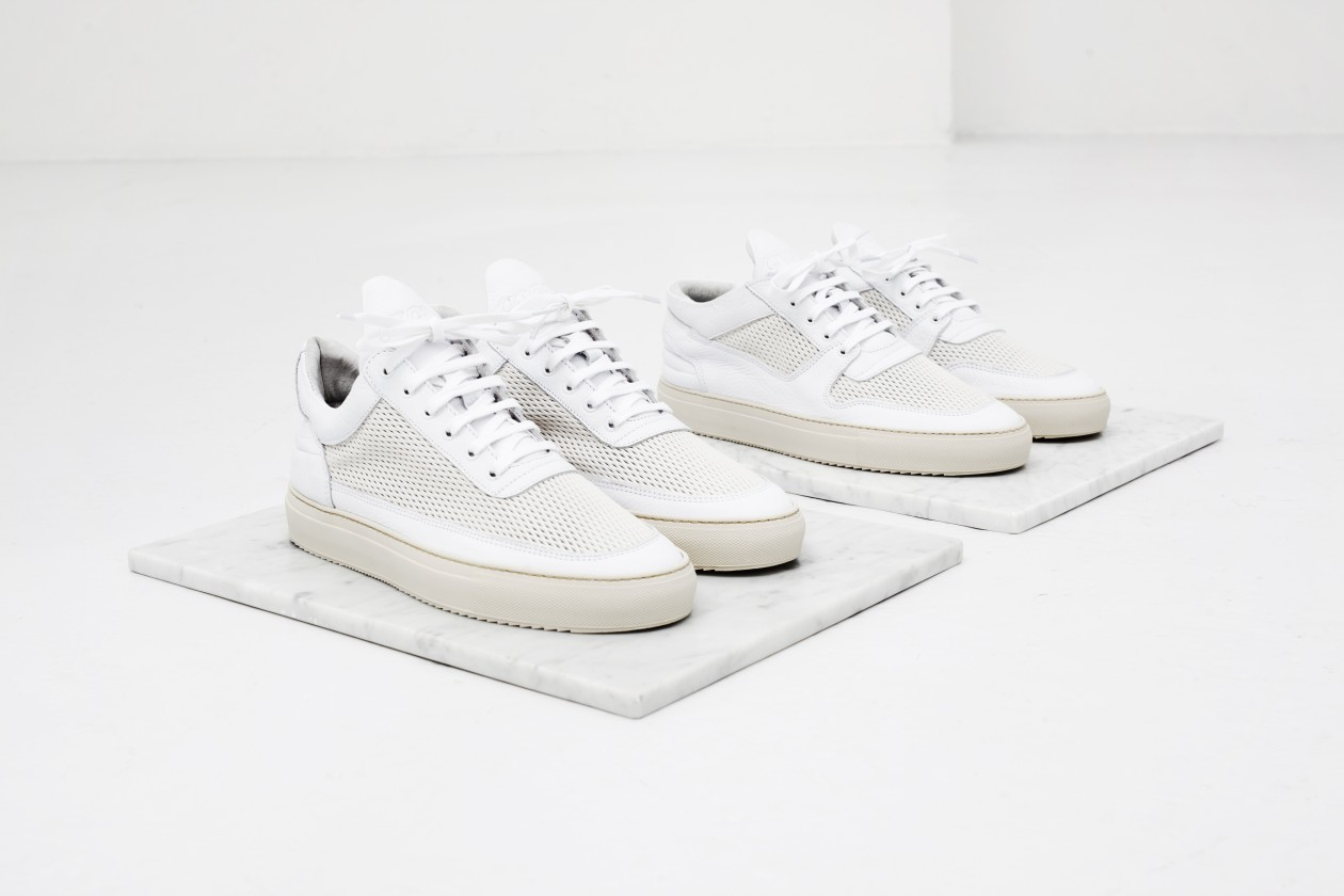 Filling Pieces Fall 15 Lookbook Low Top Ultra 3M Off White