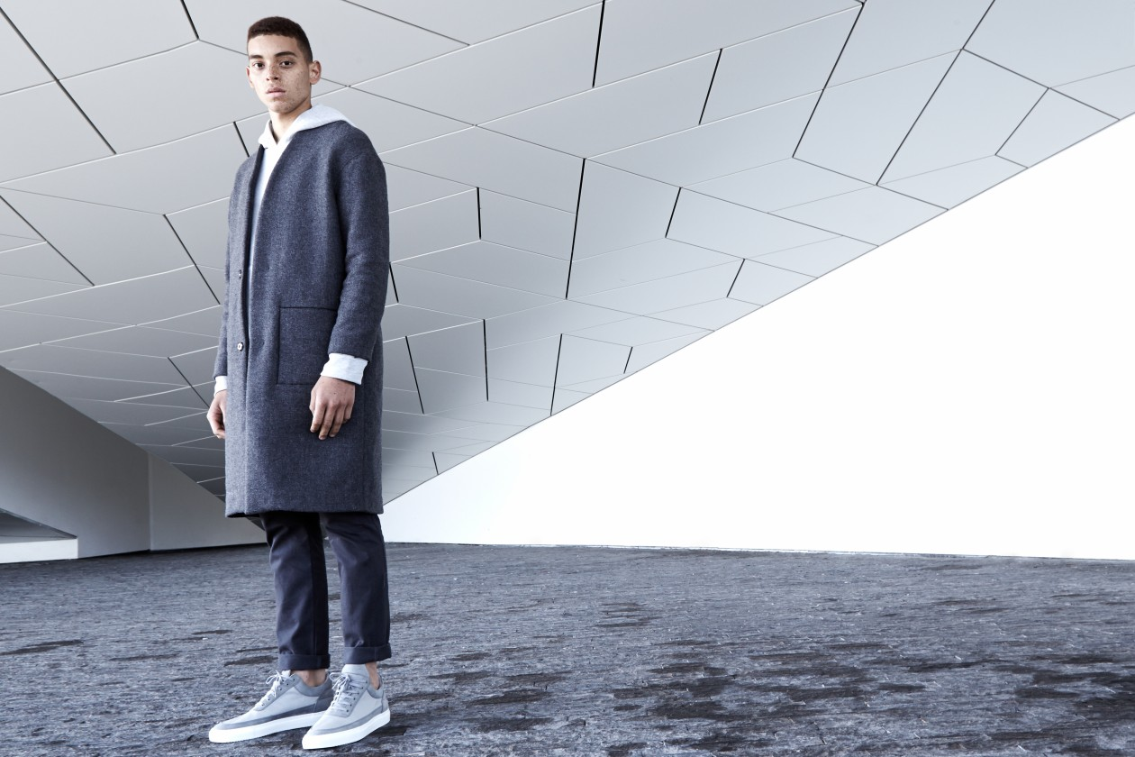 Filling Pieces Fall 15 Lookbook Low Top Grey