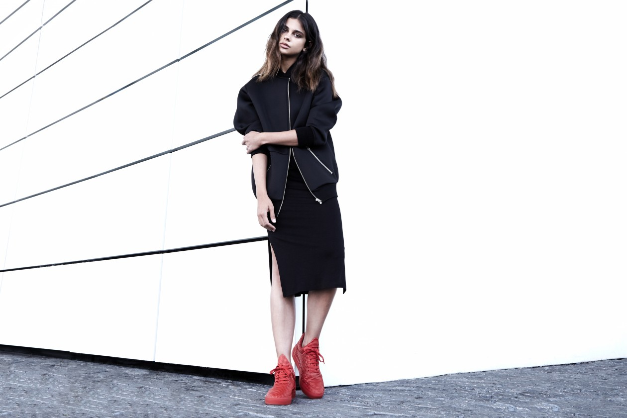 Filling Pieces Fall 15 Lookbook Low Top Pyramid Red