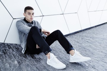 Filling Pieces Fall 15 Lookbook Low Top White Men