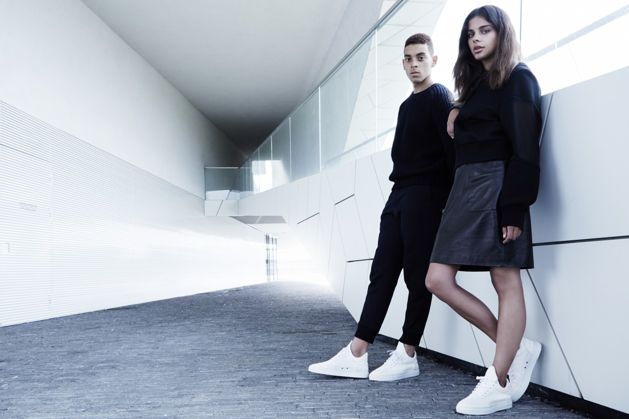 Filling Pieces Fall 15 Lookbook Low Top White