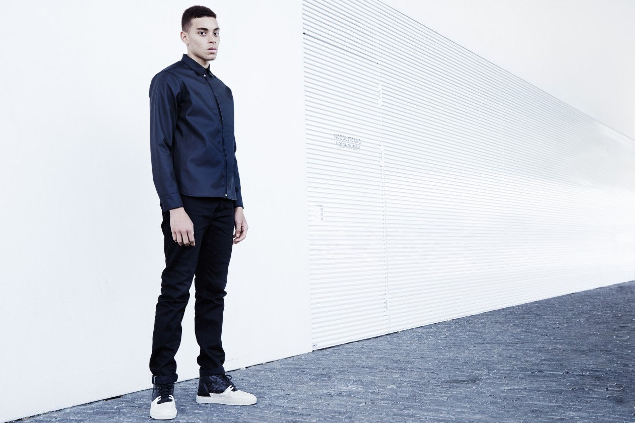 Filling Pieces Fall 15 Lookbook Transformed High Top Black White