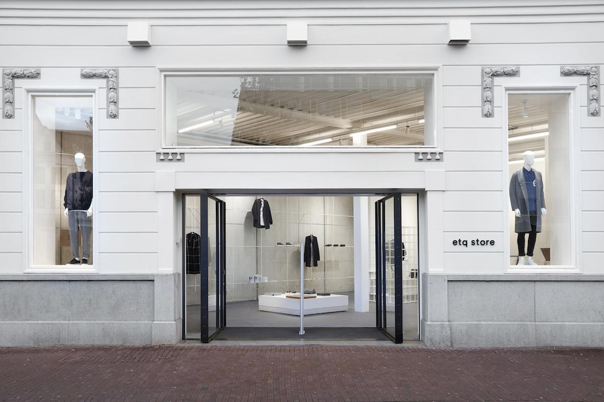 ETQ Amsterdam opening etq store front