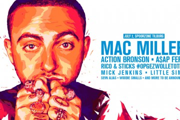 WOO HAH! 2016 Mac Miller flyer Cover