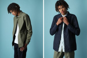 Quality Blanks Coach Jackets Navy Green 2